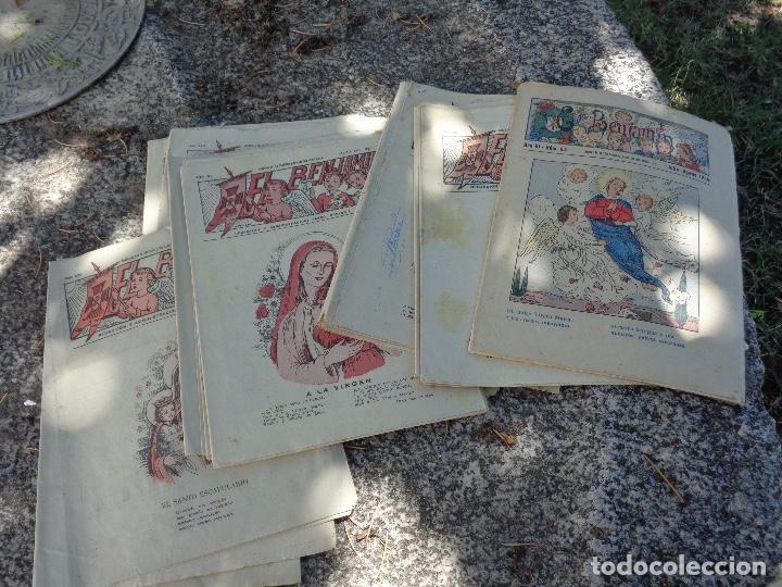 LOTE REVISTAS EL BENJAMIN (Papel - Revistas y Periódicos Modernos (a partir de 1.940) - Revista Temas Españoles)