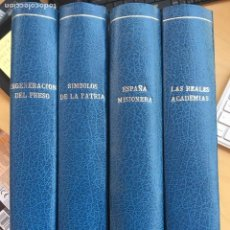 Coleccionismo de Revista Temas Españoles: TEMAS ESPAÑOLES .4 TOMOS ENCUADERNADOS ESPECIFICO LOS NUMEROS QUE CONTIENE EN LISTADO ADJUNTO. Lote 126901651