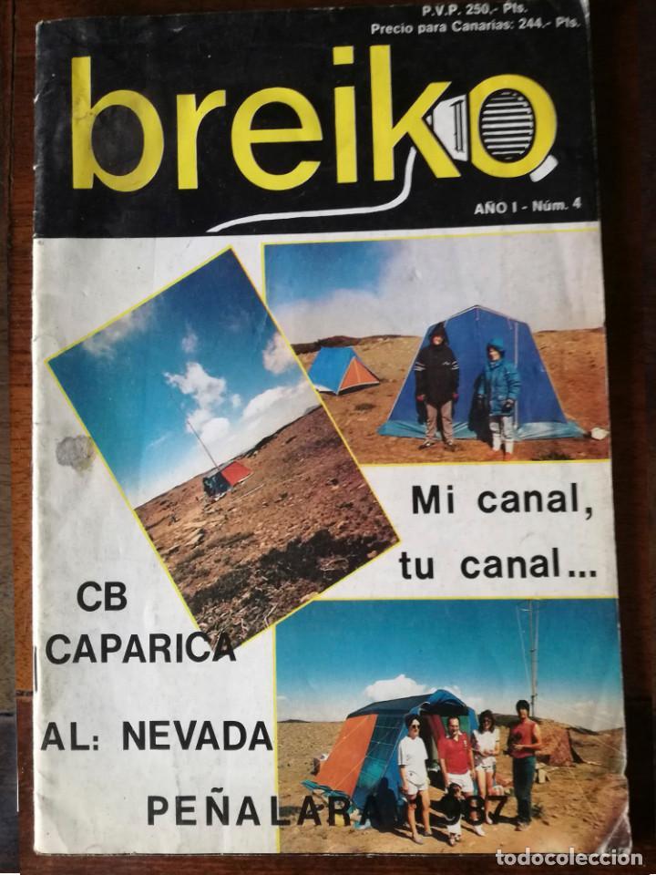 2 REVISTA BREIKO Nº 1-4 RADIOAFICIONADOS NUEVO (Papel - Revistas y Periódicos Modernos (a partir de 1.940) - Revista Temas Españoles)