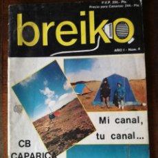 Coleccionismo de Revista Temas Españoles: 2 REVISTA BREIKO Nº 1-4 RADIOAFICIONADOS NUEVO. Lote 127030679