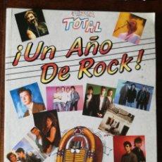 Coleccionismo de Revista Temas Españoles: FIESTA TOTAL ¡UN AÑO DE ROCK! ERISA 1988 NUEVO. Lote 127035635