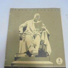 Coleccionismo de Revista Temas Españoles: REVISTA TEMAS ESPAÑOLES. VIDA Y OBRA DE MENENDEZ Y PELAYO. Nº 12. AÑO 1952. Lote 129227399