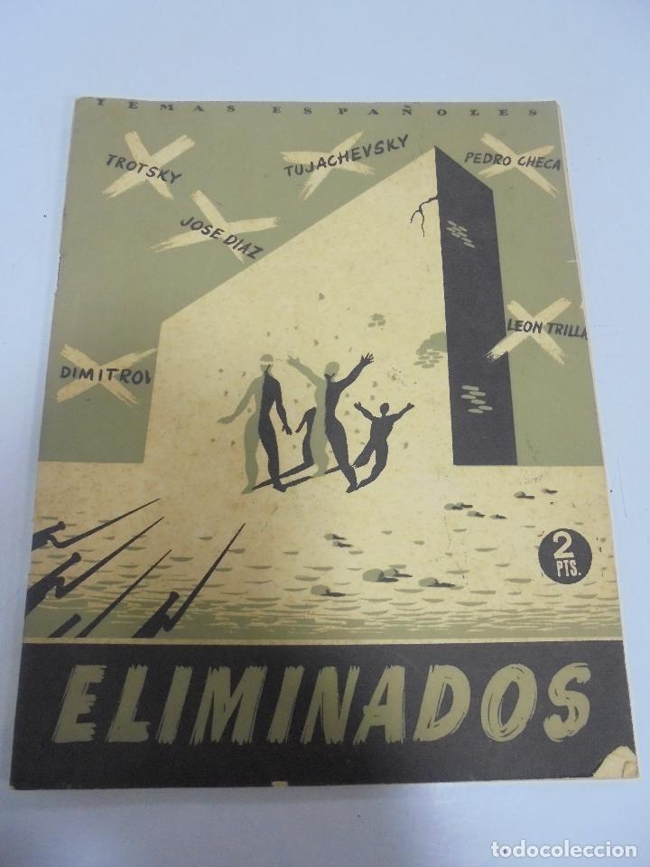 REVISTA TEMAS ESPAÑOLES. ELIMINADOS. Nº 17. AÑO 1952 (Papel - Revistas y Periódicos Modernos (a partir de 1.940) - Revista Temas Españoles)