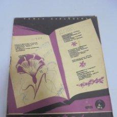 Coleccionismo de Revista Temas Españoles: REVISTA TEMAS ESPAÑOLES. 6 POETAS CONTEMPORANEOS. Nº 31. AÑO 1953. Lote 129228203