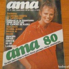 Coleccionismo de Revista Temas Españoles: ¡¡REVISTA AMA¡¡AÑO 1980¡¡. Lote 131873362
