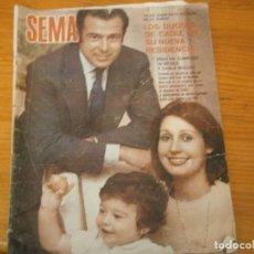 Coleccionismo de Revista Temas Españoles: REVISTA SEMANA AÑO 1974¡¡. Lote 131874486