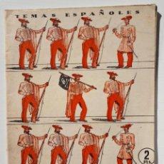 Coleccionismo de Revista Temas Españoles: TEMAS ESPAÑOLES Nº 110 (AÑO 1954). Lote 132306542