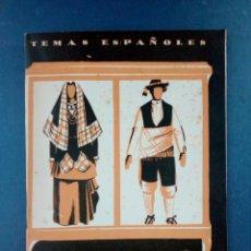 Coleccionismo de Revista Temas Españoles: TEMAS ESPAÑOLES Nº 132 - EL TRAJE REGIONAL 1959. Lote 132360338
