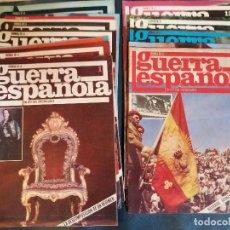 Coleccionismo de Revista Temas Españoles: CRONICA DE LA GUERRA ESPAÑOLA NUM 1-12. Lote 132802706