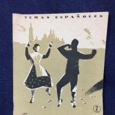 Coleccionismo de Revista Temas Españoles: TEMAS ESPAÑOLES ARAGON N 126 POR VICENTE PAVÍA 1954. Lote 132985046