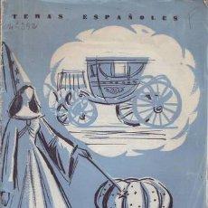 Coleccionismo de Revista Temas Españoles: HORCAJADA, RÓMULO: COCHES Y CARROZAS. TEMAS ESPAÑOLES Nº 392. MADRID, PUBLICACIONES ESPAÑOLAS 1959.. Lote 133722214
