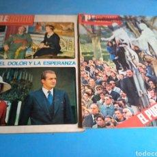 Coleccionismo de Revista Temas Españoles: PERIÓDICO TELERADIO N'933-936 AÑO 1975.. Lote 133748378