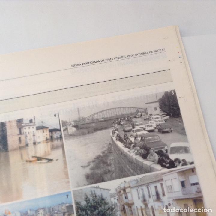Coleccionismo de Revista Temas Españoles: Periódico especial Pantanada de Tous - Foto 3 - 134445353
