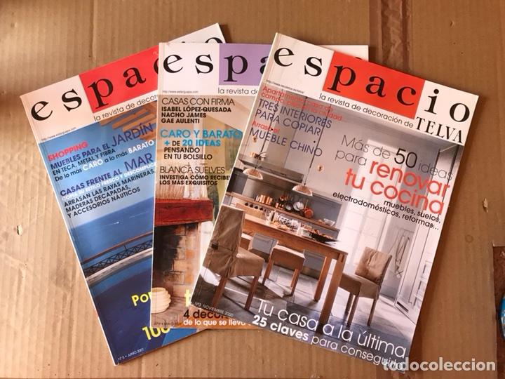 LOTE REVISTAS ESPACIO - TELVA (Papel - Revistas y Periódicos Modernos (a partir de 1.940) - Revista Temas Españoles)