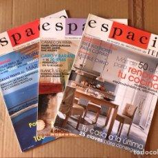 Coleccionismo de Revista Temas Españoles: LOTE REVISTAS ESPACIO - TELVA. Lote 135788705