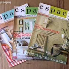 Coleccionismo de Revista Temas Españoles: LOTE REVISTA ESPACIO - TELVA. Lote 135788831