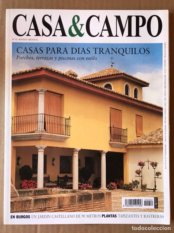 Revista Decoración Número 52 Casa Campo