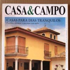 Coleccionismo de Revista Temas Españoles: REVISTA DECORACIÓN NÚMERO 52 CASA & CAMPO. Lote 185729430