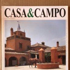 Coleccionismo de Revista Temas Españoles: REVISTA DECORACIÓN NÚMERO 58 CASA & CAMPO. Lote 185729505