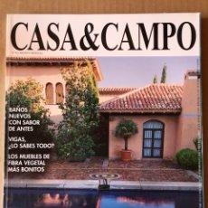 Coleccionismo de Revista Temas Españoles: REVISTA NÚMERO 96 CASA & CAMPO. Lote 135858369