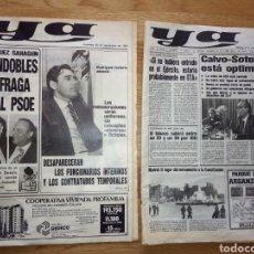 Coleccionismo de Revista Temas Españoles: PERIODICO YA POLITICA PSOE 1981. Lote 136421385