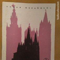 Coleccionismo de Revista Temas Españoles: TEMAS ESPAÑOLES. CATEDRALES.1957. Lote 136460490