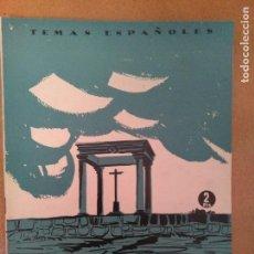 Coleccionismo de Revista Temas Españoles: TEMAS ESPAÑOLES. AVILA. 1956. Lote 136570886