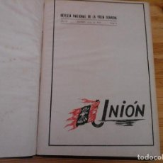 Coleccionismo de Revista Temas Españoles: REVISTA LA UNION - REVISTA NACIONAL DE LA VIEJA GUARDIA. Lote 137309594