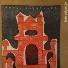 Coleccionismo de Revista Temas Españoles: TEMAS ESPAÑOLES. ARQUITECTURA MODERNA.1958. Lote 137530178