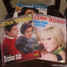 Coleccionismo de Revista Temas Españoles: LOTE DE TRES REVISTAS ANTIGUAS , DOS CORIN TELLADO Y UNA ROMPEOLAS, FOTONOVELAS. Lote 137920738