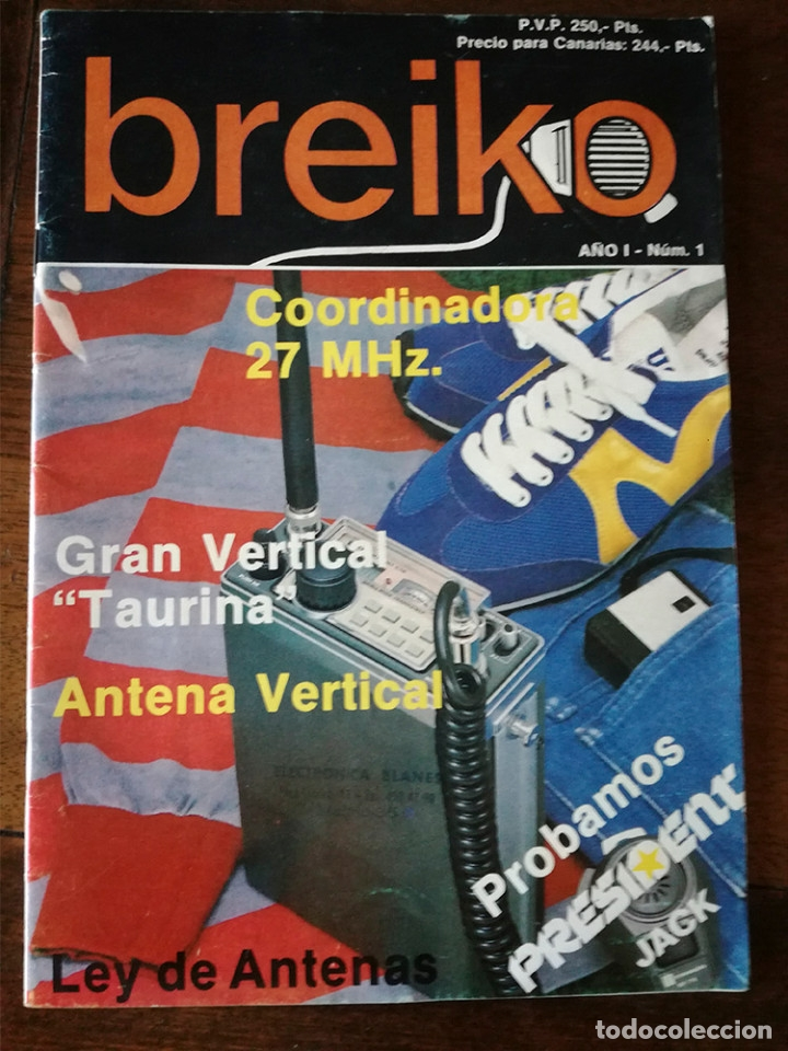 Coleccionismo de Revista Temas Españoles: 2 REVISTA BREIKO Nº 1-4 RADIOAFICIONADOS Nuevo - Foto 2 - 127030679