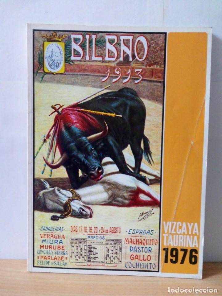 REVISTA VIZCAYA TAURINA 1976 (Papel - Revistas y Periódicos Modernos (a partir de 1.940) - Revista Temas Españoles)