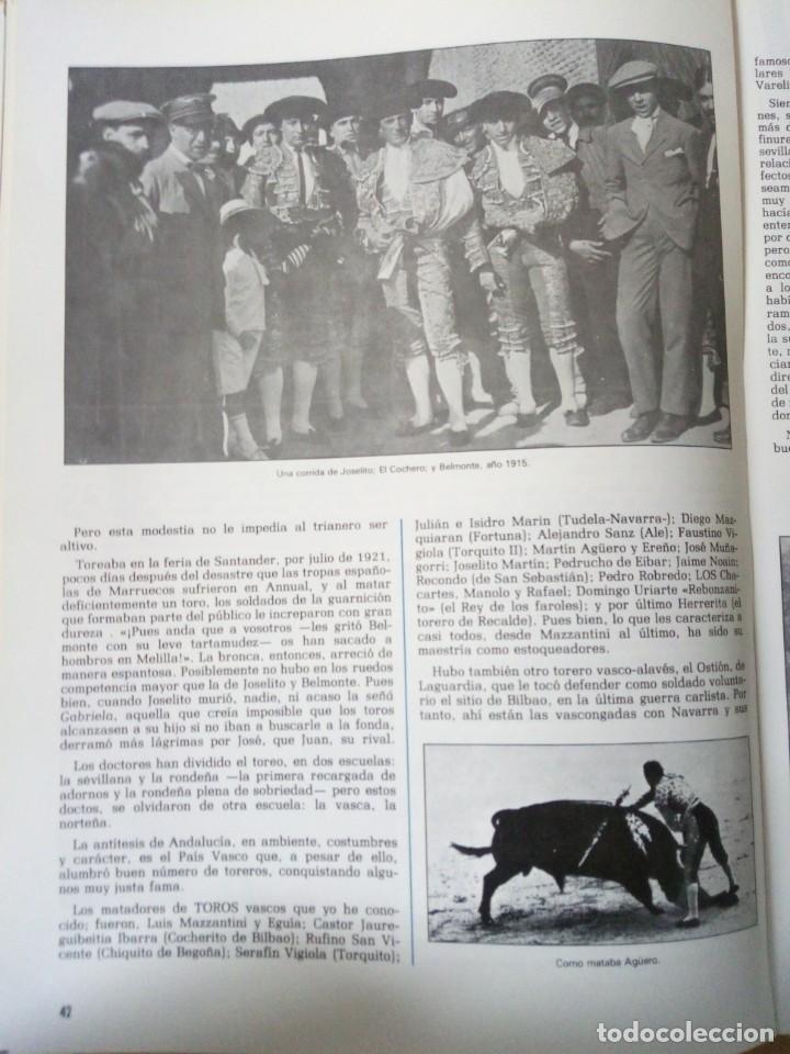 Coleccionismo de Revista Temas Españoles: REVISTA VIZCAYA TAURINA 1976 - Foto 10 - 140320826