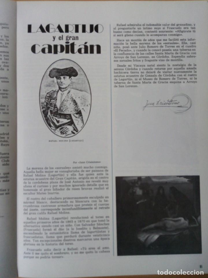 Coleccionismo de Revista Temas Españoles: REVISTA VIZCAYA TAURINA 1976 - Foto 12 - 140320826