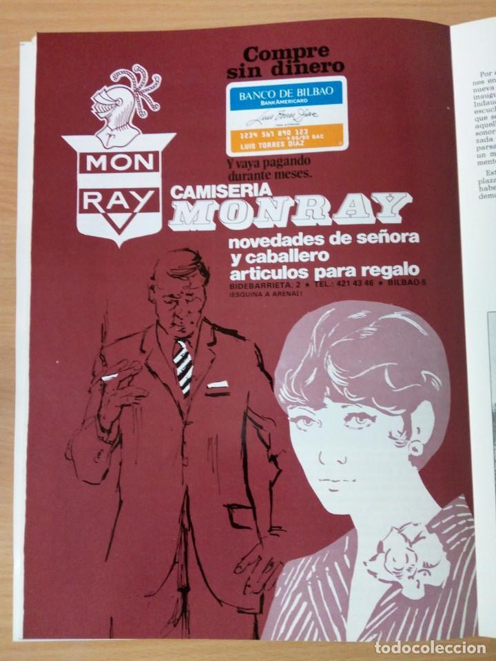 Coleccionismo de Revista Temas Españoles: REVISTA VIZCAYA TAURINA 1976 - Foto 15 - 140320826