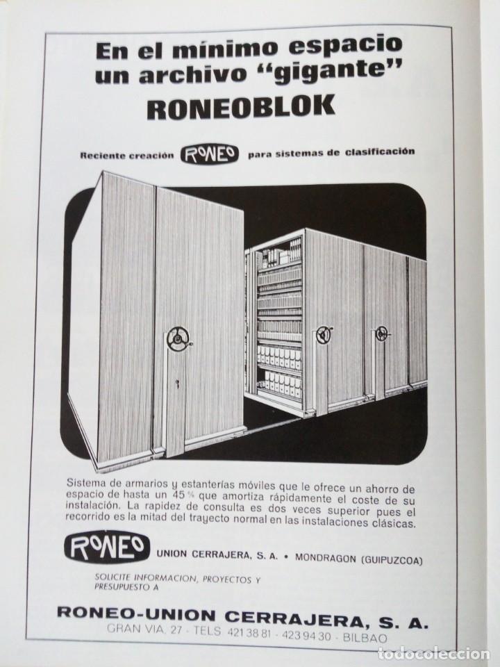 Coleccionismo de Revista Temas Españoles: REVISTA VIZCAYA TAURINA 1976 - Foto 16 - 140320826