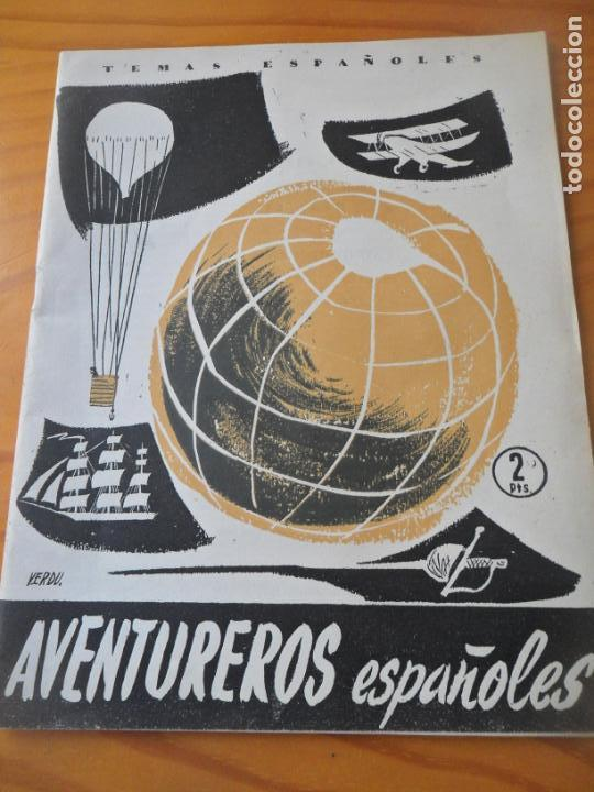 TEMAS ESPAÑOLES Nº 261 DE 1956 - AVENTUREROS ESPAÑOLES POR JOSE L. FERNANDEZ-RUA - MONOGRAFICO (Papel - Revistas y Periódicos Modernos (a partir de 1.940) - Revista Temas Españoles)