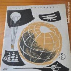 Coleccionismo de Revista Temas Españoles: TEMAS ESPAÑOLES Nº 261 DE 1956 - AVENTUREROS ESPAÑOLES POR JOSE L. FERNANDEZ-RUA - MONOGRAFICO. Lote 143675022