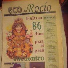 Coleccionismo de Revista Temas Españoles: PERIODICO DEL ROCIO. Lote 143767170