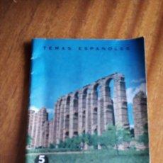 Coleccionismo de Revista Temas Españoles: EXTREMADURA. CARLOS CALLEJO Nº 441. 1.963. Lote 144093614