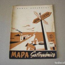 Coleccionismo de Revista Temas Españoles: TEMAS ESPAÑOLES: Nº 33 MAPA GASTRONOMICO POR LUIS DE FONTEFRIAS - PUBLICACIONES ESPAÑOLAS 1956. Lote 146096994