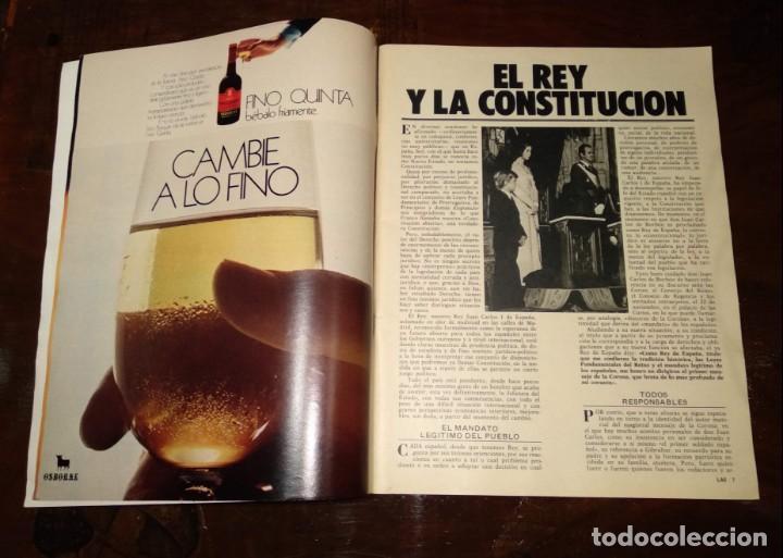 Coleccionismo de Revista Temas Españoles: LA ACTUALIDAD ESPAÑOLA - REVISTA - Nº1248 - 8/12/1975 - CLAMOR POPULAR: VIVA EL REY - VER FOTOS - Foto 3 - 146172138