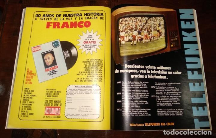 Coleccionismo de Revista Temas Españoles: LA ACTUALIDAD ESPAÑOLA - REVISTA - Nº1248 - 8/12/1975 - CLAMOR POPULAR: VIVA EL REY - VER FOTOS - Foto 8 - 146172138