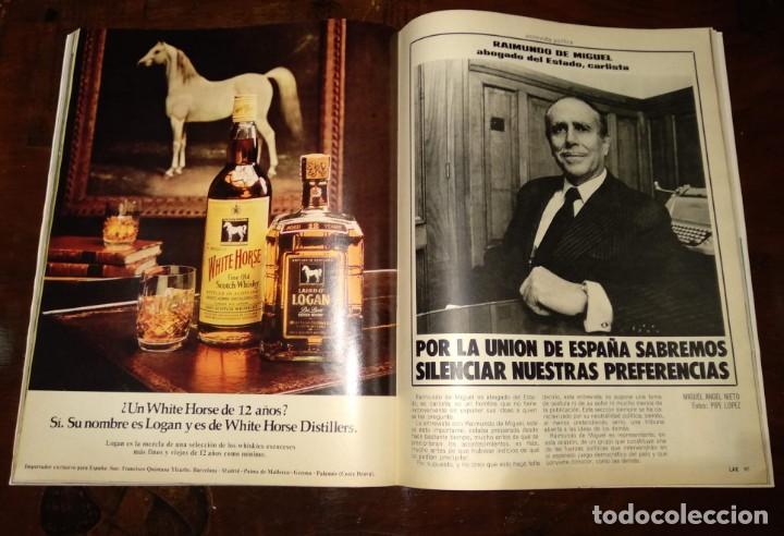Coleccionismo de Revista Temas Españoles: LA ACTUALIDAD ESPAÑOLA - REVISTA - Nº1248 - 8/12/1975 - CLAMOR POPULAR: VIVA EL REY - VER FOTOS - Foto 9 - 146172138