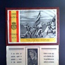 Coleccionismo de Revista Temas Españoles: CALENDARIO ORIGINAL CARLISTA,COMPLETO DEL AÑO 1958,D.JAVIER DE BORBON (34CM. X 25CM.) DESCRIPCIÓN. Lote 146234922