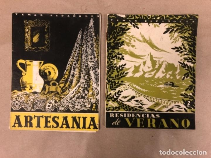 Coleccionismo de Revista Temas Españoles: LOTE DE 12 NÚMEROS DE TEMAS ESPAÑOLES. ARTESANÍA, CATALUÑA, ESPAÑOLES EN ARGELIA, LEVANTE, TÁNGER,.. - Foto 2 - 147372146