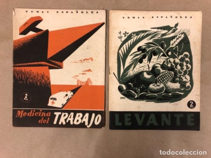 Coleccionismo de Revista Temas Españoles: LOTE DE 12 NÚMEROS DE TEMAS ESPAÑOLES. ARTESANÍA, CATALUÑA, ESPAÑOLES EN ARGELIA, LEVANTE, TÁNGER,.. - Foto 4 - 147372146