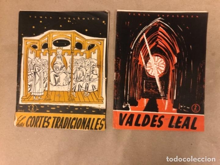 Coleccionismo de Revista Temas Españoles: LOTE DE 12 NÚMEROS DE TEMAS ESPAÑOLES. ARTESANÍA, CATALUÑA, ESPAÑOLES EN ARGELIA, LEVANTE, TÁNGER,.. - Foto 6 - 147372146