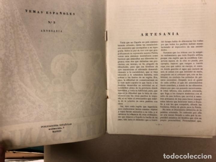 Coleccionismo de Revista Temas Españoles: LOTE DE 12 NÚMEROS DE TEMAS ESPAÑOLES. ARTESANÍA, CATALUÑA, ESPAÑOLES EN ARGELIA, LEVANTE, TÁNGER,.. - Foto 9 - 147372146