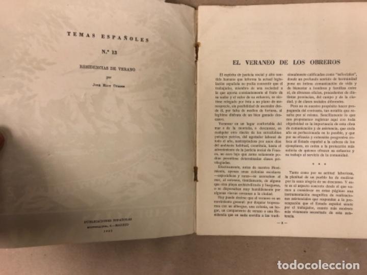 Coleccionismo de Revista Temas Españoles: LOTE DE 12 NÚMEROS DE TEMAS ESPAÑOLES. ARTESANÍA, CATALUÑA, ESPAÑOLES EN ARGELIA, LEVANTE, TÁNGER,.. - Foto 10 - 147372146